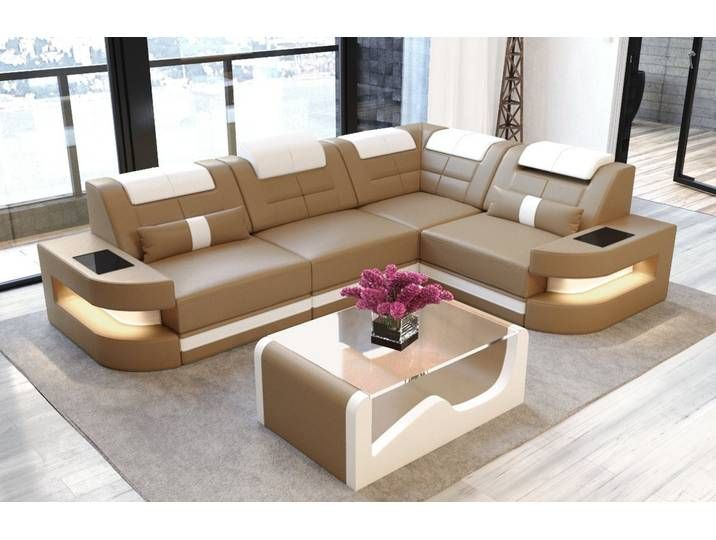 Sofa Dreams Ecksofa Como L Form Braun Ohne Bettfunktion Sandbeig Corner Sofa Furniture Sofa Design