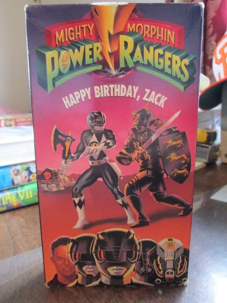 Mighty Morphin Power Rangers: Happy Birthday Zack