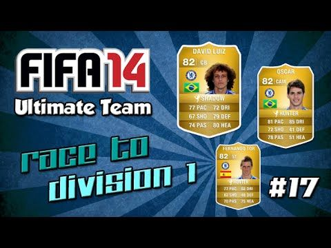 fifa 14 ultimate team race to division 1 17 so many rage