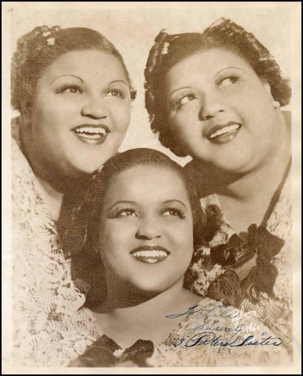 Schubertiade :: [Jazz & Song] Three Peters Sisters