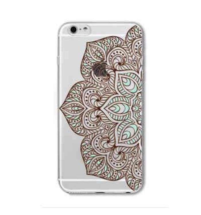 Case For Iphone 6 6s Plus 5 5s Se 6plus Transparent Cases Floral