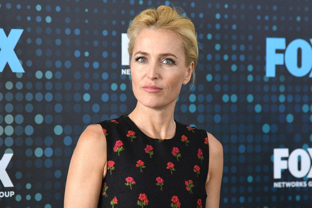 Gillian Anderson Poses Topless For A Good Cause