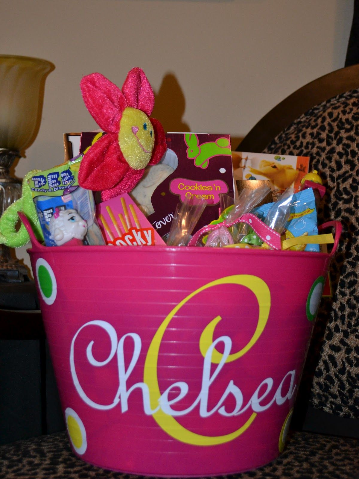 Easter Basket For Girls Holiday Crafts Gifts And Treats
