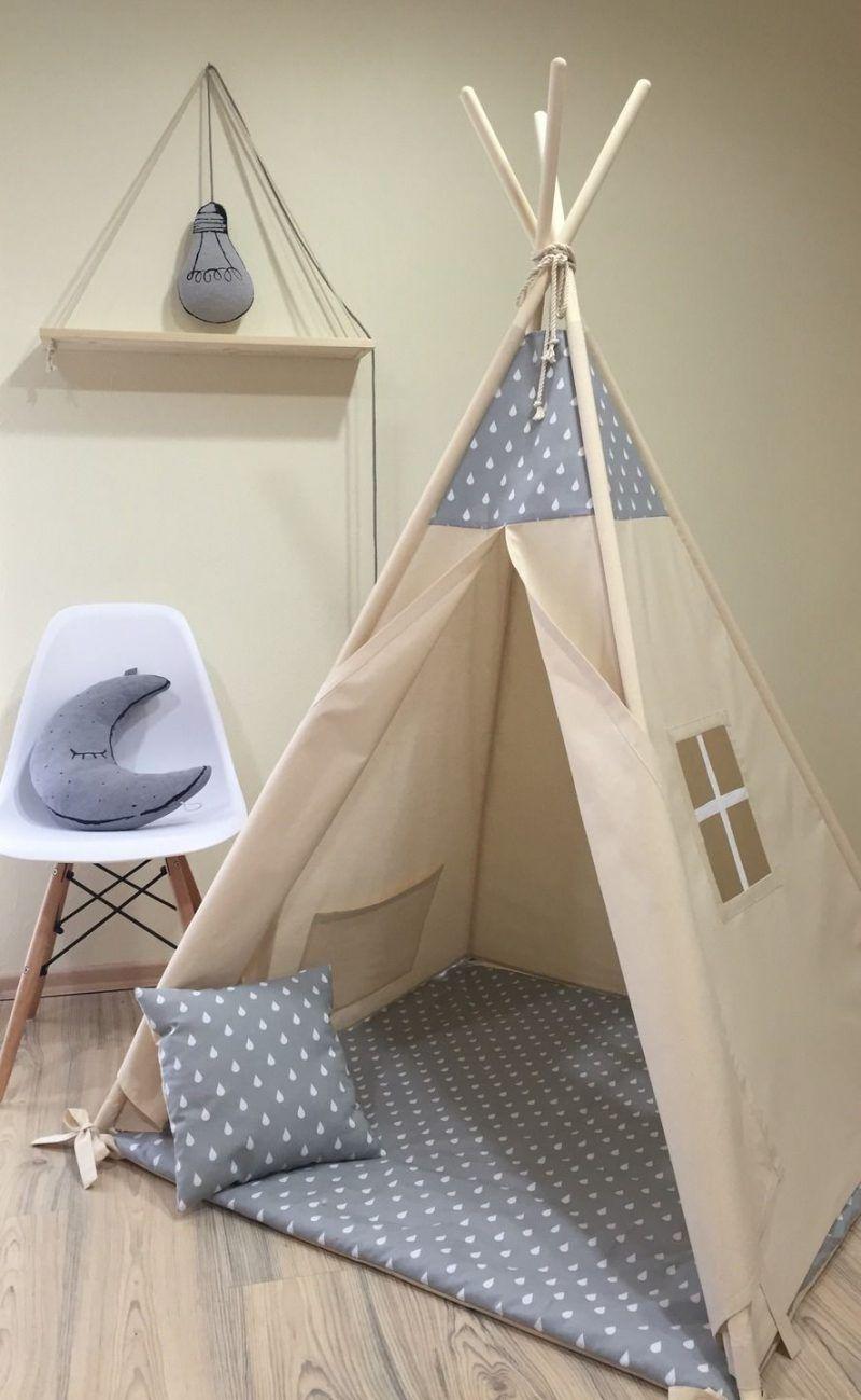 Tipi nähen eine kreative Idee für das Kinderzimmer Zelt