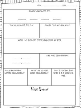 The Worksheet Works On Developing The Following Skills Number Manipulation Odd And Even Numbers Numbers Be Daily Math Practice Daily Math Math Practices
