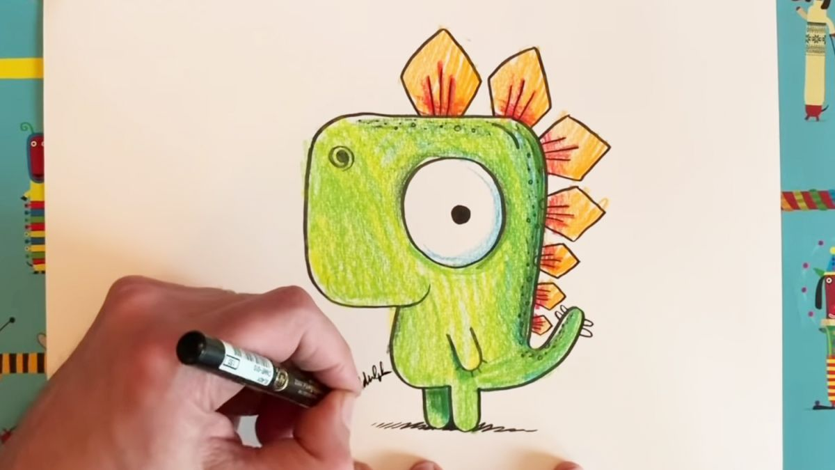 Illustrator gives free drawing lessons to inspire kids stuck at home | Creative Bloq