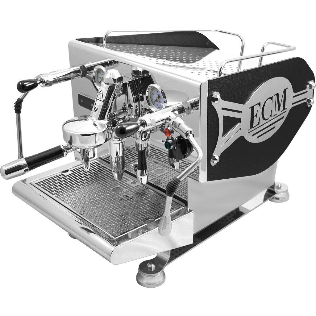 ECM Germany Controvento Double Boiler Commercial Rated Espresso Machine Is  Equipped With Dual Boiler And PID Temperature Regulation And More.