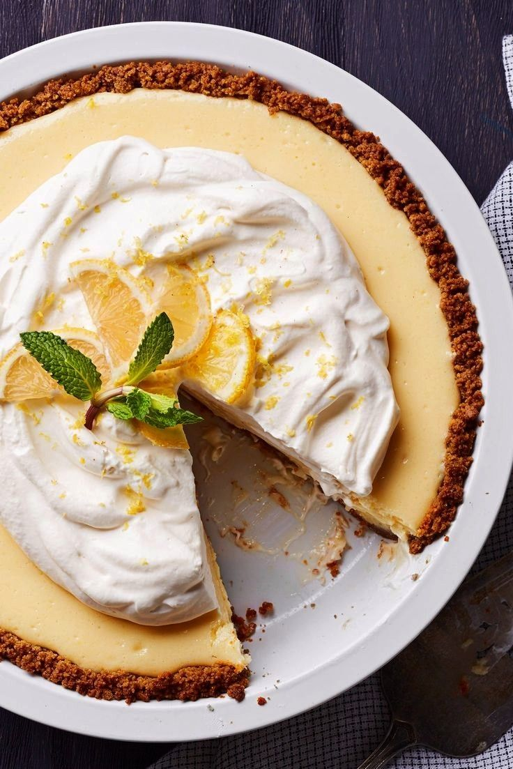Understand Why Joanna Gaines's Lemon Pie Is Her Favorite Once You Make It Yourself pies You'll Unde