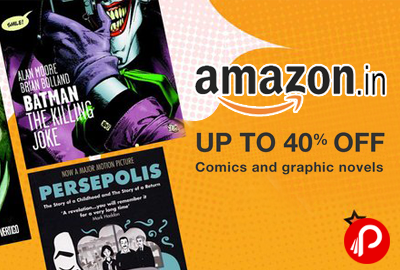 Amazon is offering Upto 40% off on #Comic #Books, Manga & #Graphics #Novels, Graphic Novels by Indian authors. Amar Chitra Katha, Zen Pencils, The Oatmeal, Character Guides, and more titles in various language.  http://www.paisebachaoindia.com/comic-books-graphics-novels-upto-40-off-amazon/