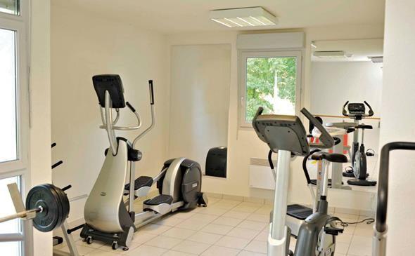 Park&Suites Confort Bourg en Bresse** - Salle de fitness  #bourgenbresse #hotel #apparthotel #salledefitness http://www.parkandsuites.com/fr/apparthotel-bourg-en-bresse
