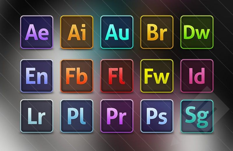 Image result for photoshop illustrator icons