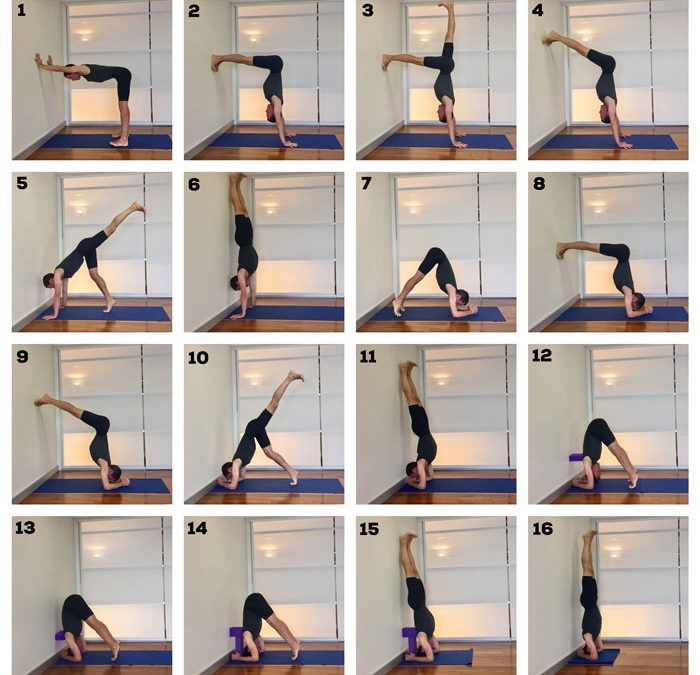 How to Do a Handstand and Headstand   Headstand yoga ...