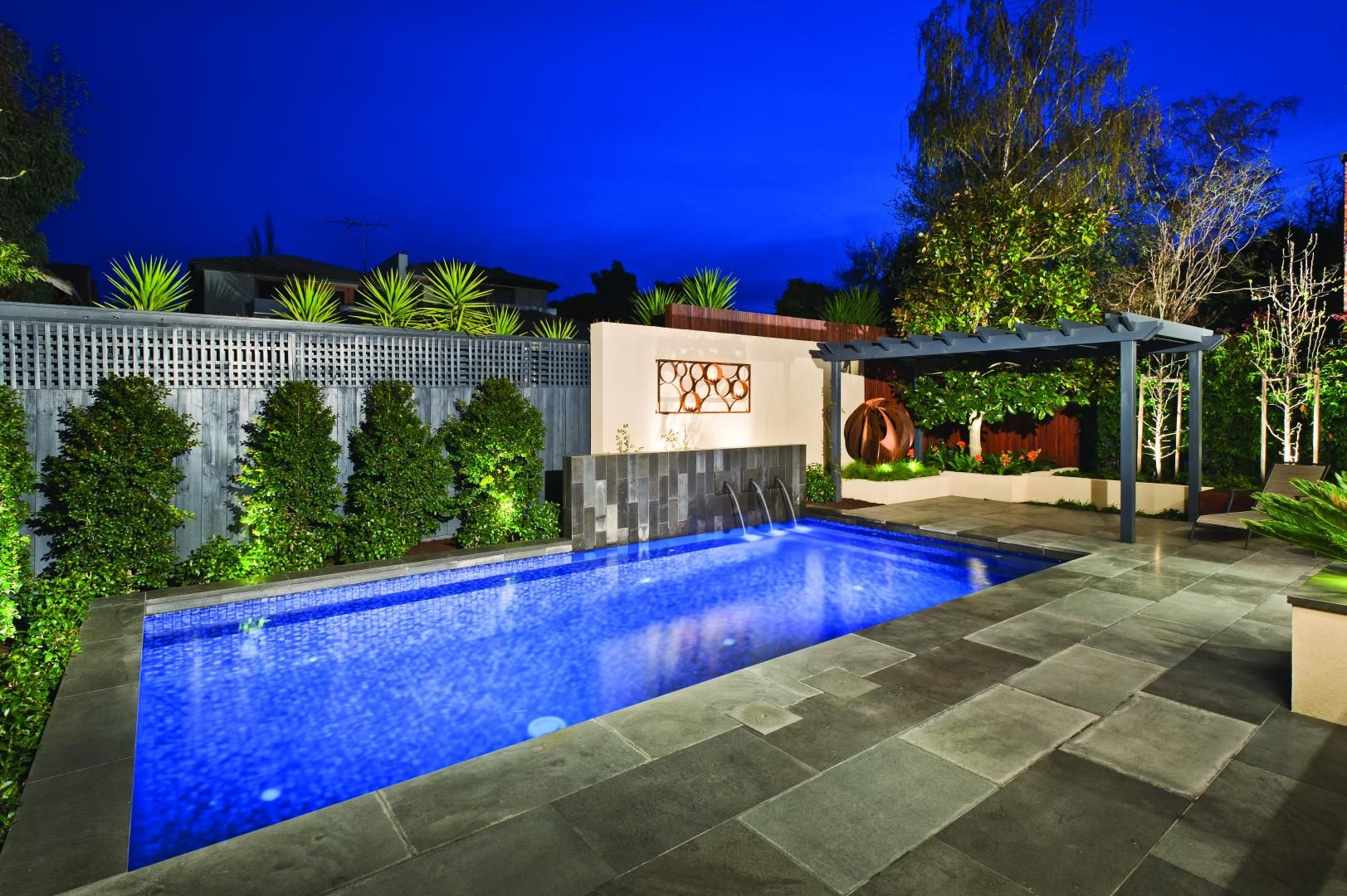 A Truly Select Pool And Landscape Design By COS Melbourne