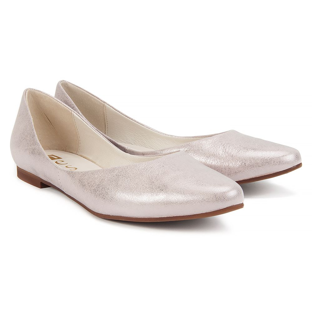Baleriny Nessi 17139 Roz Gm Baleriny Buty Damskie Filippo Pl Shoes Quartz Rose Quartz