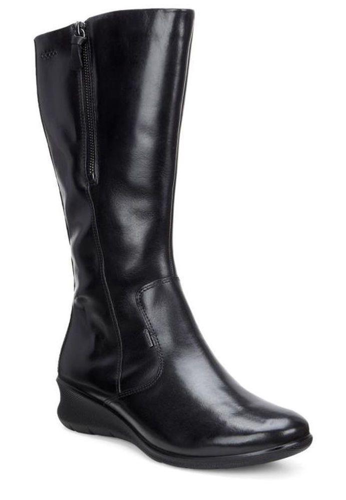 29a22e8a86 ECCO Babett 45 GORE-TEX Wedge Women's Boots Black/Noir : Size 8-8.5 ...