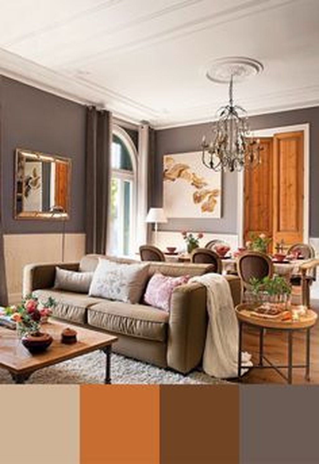 A Color Plan Can Establish The Tone For Your Living Room Loca