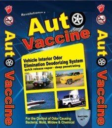 Auto Vaccine: The Perfect Companion of your cars to eliminate bad odors. Order now at: