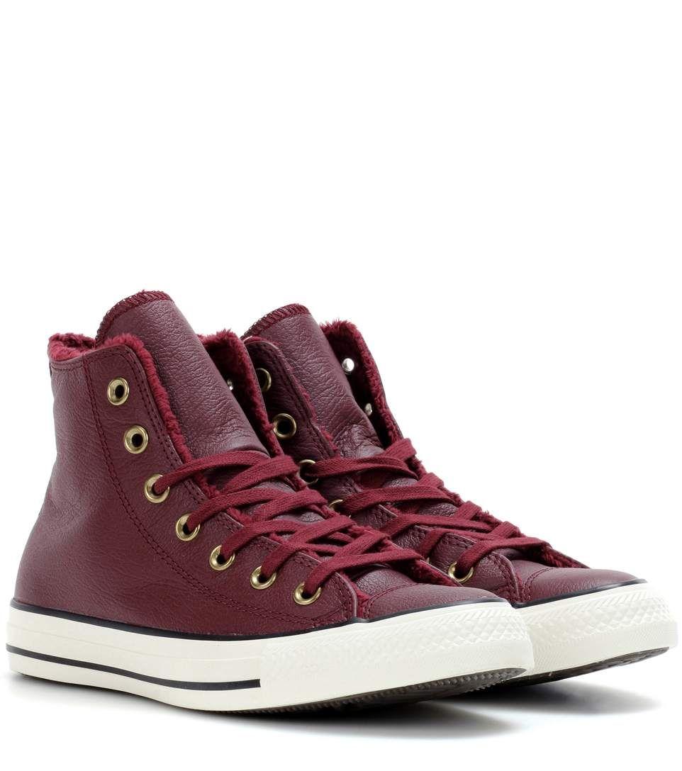 scarpe converse pelliccia