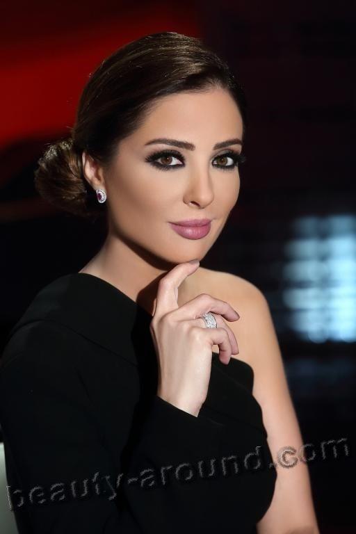 Beautiful Egyptian Women Wafaa Kilani Egyptian Television -3541