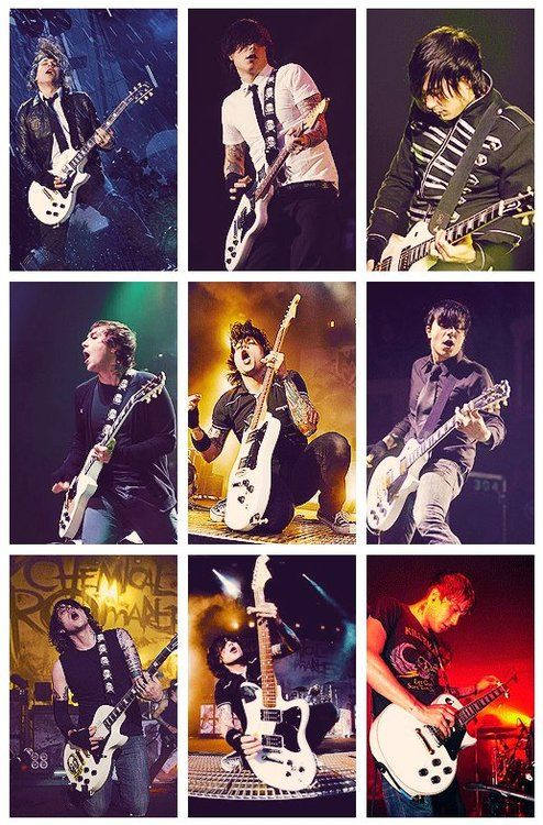 Frank with his many hairstyles.