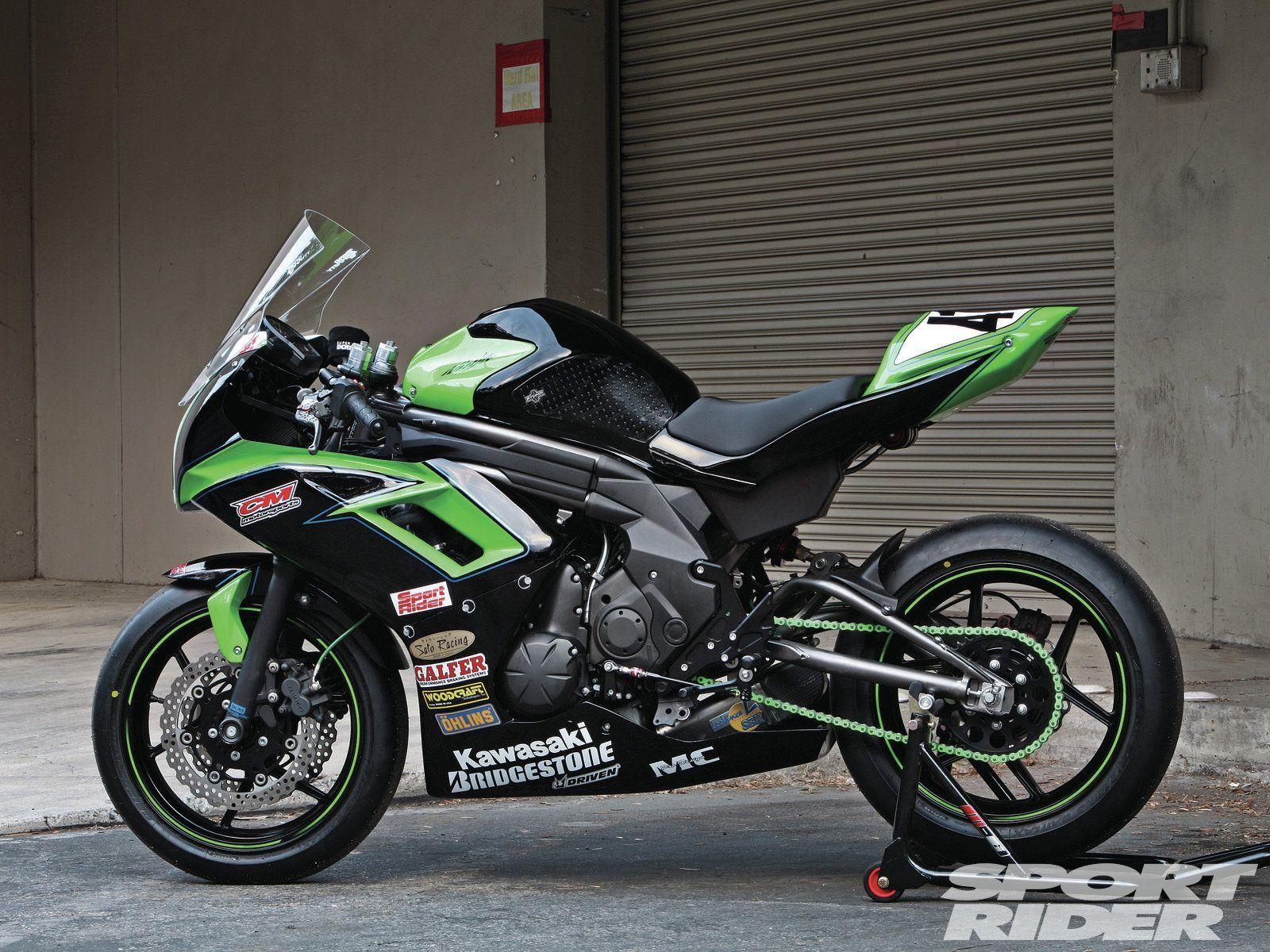 kawasaki ninja 650 racebike | kawasaki motorcycles | pinterest