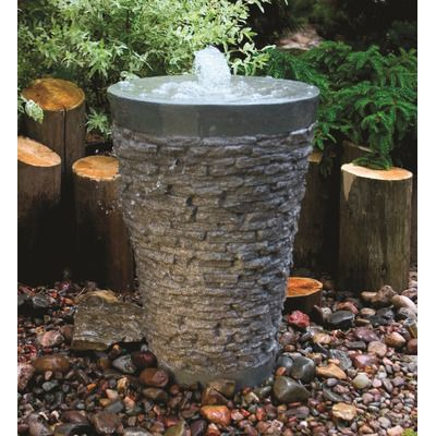 Aquascape Stacked Slate Fountain Kit U0026 Reviews | Wayfair