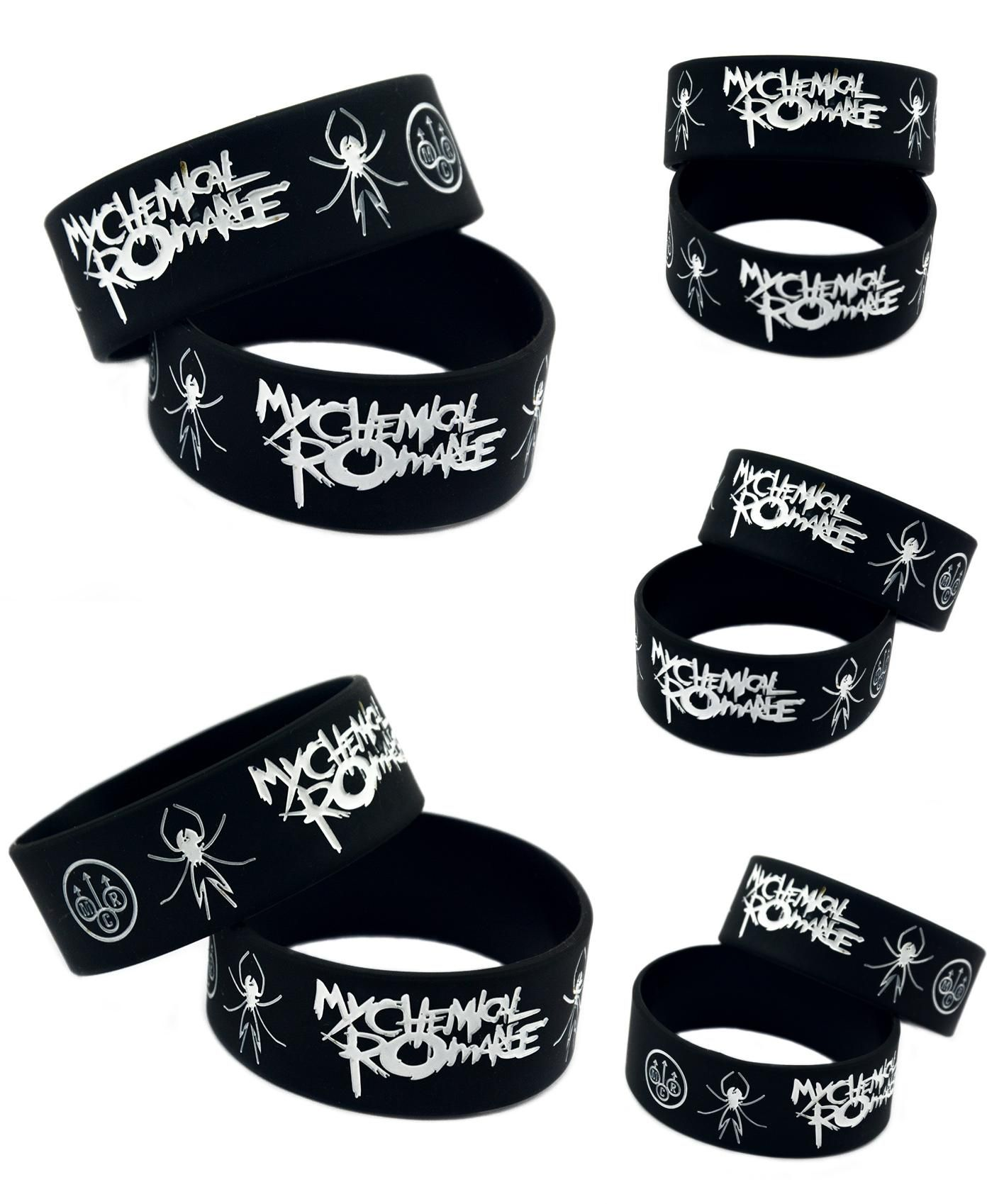 Visit to buy wholesale my chemical romance silicone wristband show