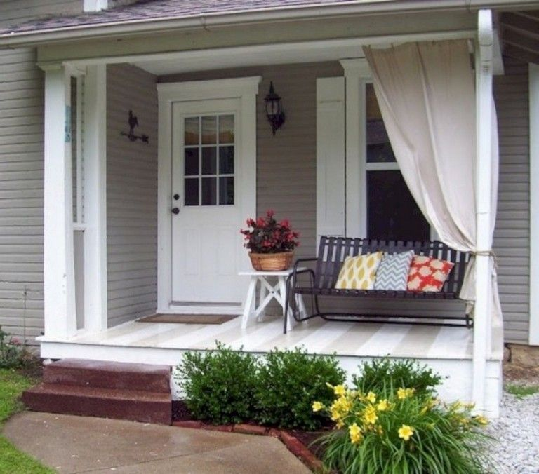 47 Cool Small Front Porch Design Ideas: 41 Awesome Small Front Porch Design Ideas