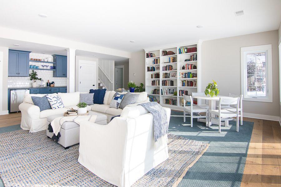 Lake House Basement Family Room Family Room Basement Family Rooms Family Room Design