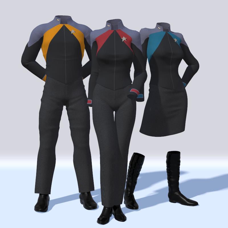 New Uniform Concept By Zaarin1 Deviantart Com On Deviantart Star Trek Online Star Trek Uniforms Star Trek Universe