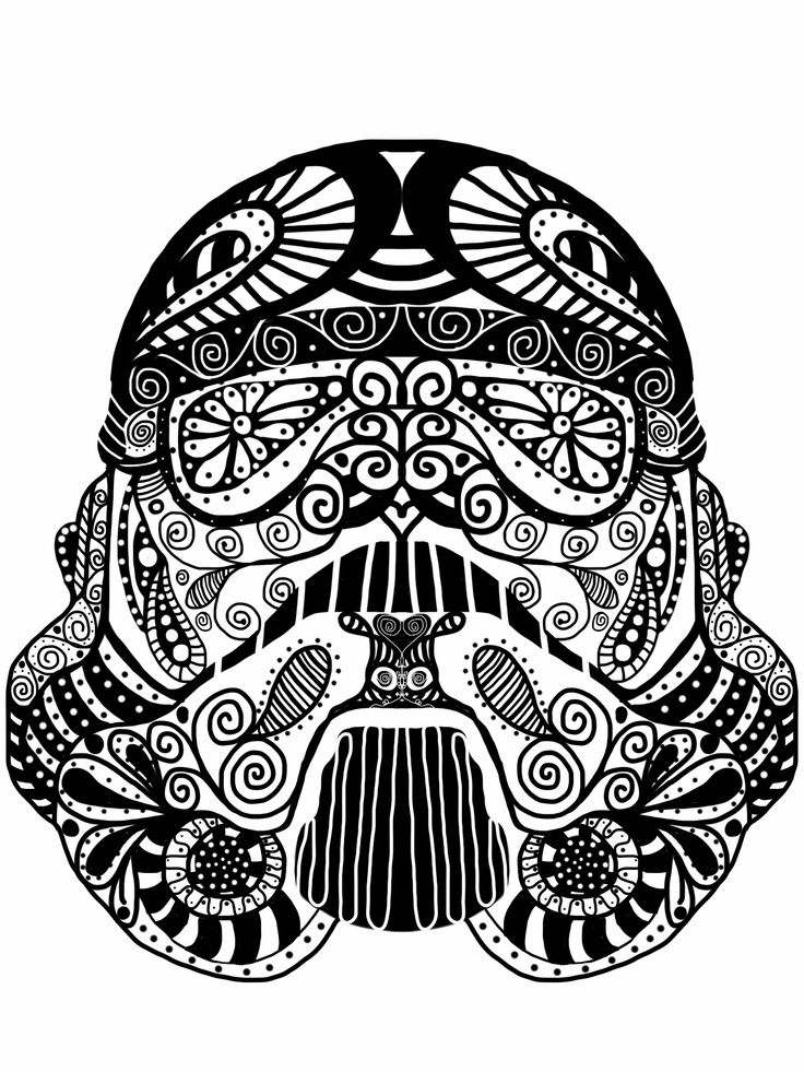 star wars doodles google search star wars pinterest coloriage mandala dessin and coloriage. Black Bedroom Furniture Sets. Home Design Ideas