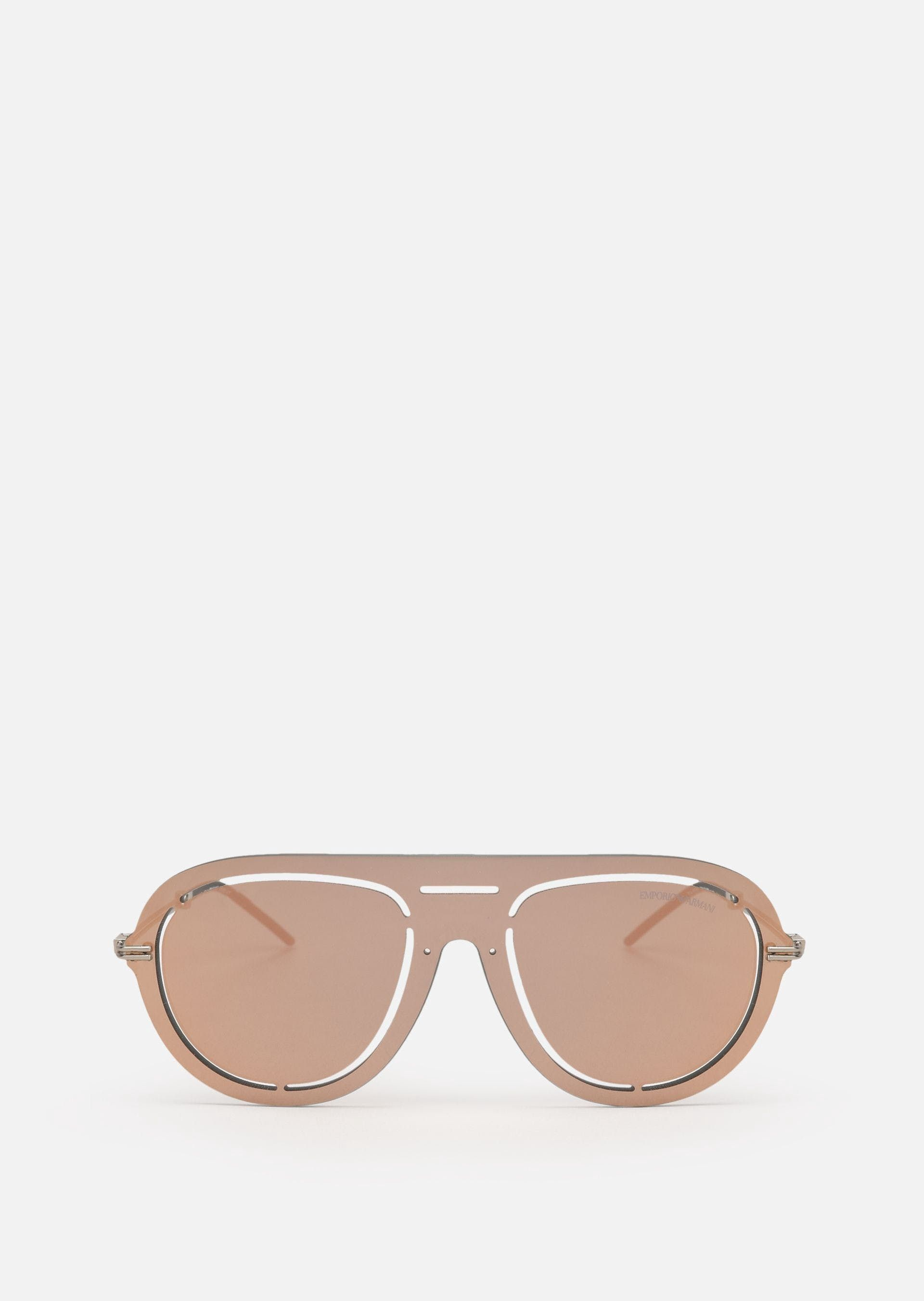 897f3995c0 LASER-CUT SHIELD SUNGLASSES by Emporio Armani | Sunglasses ...