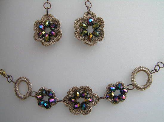 gioielli all uncinetto Crochet Jewelry