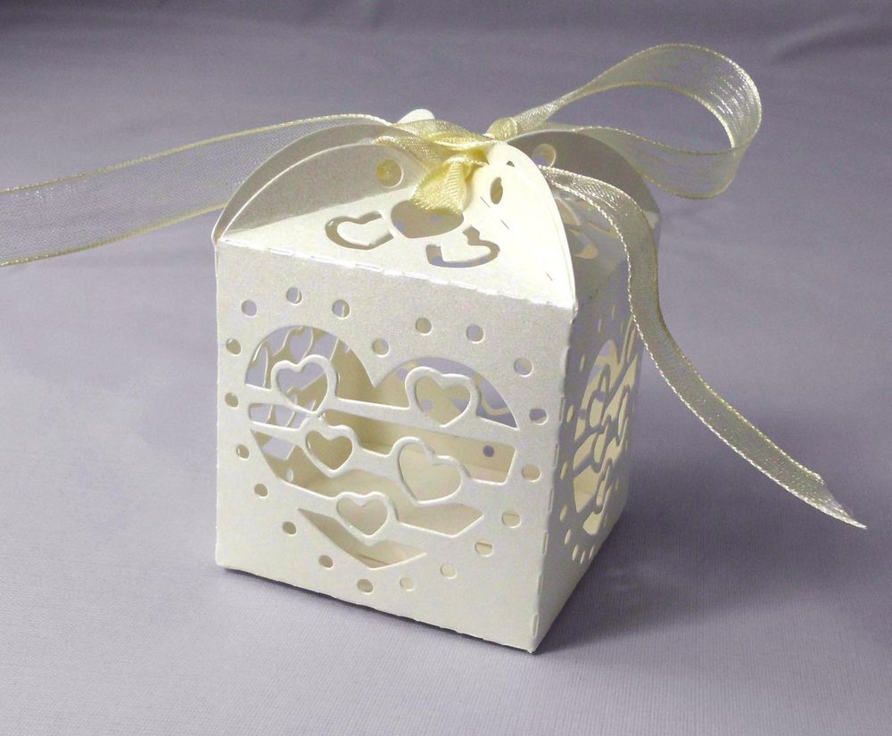 12pcs Decorative 5*5*5cm White Paper/Card Lantern Holder for Teatime ...