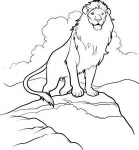 Aslan Narnia Colouring Pages Lion Coloring Pages Cute Coloring Pages Coloring Pages