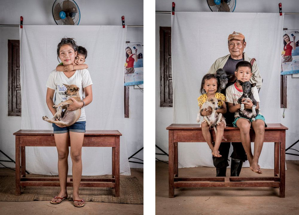 Pet Owners of Laos Photo Series by Ernest Goh - Dog Milk ...