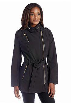 9613f4e17 MICHAEL Michael Kors Side Zip Soft Coat | coats | Coat, Michael kors ...