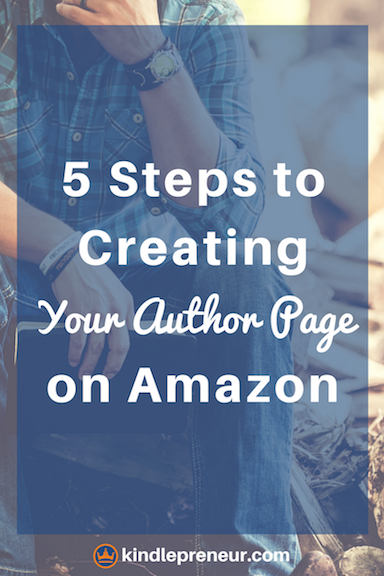 How to Setup Amazon Author Central and Your Author Page | Writer ...