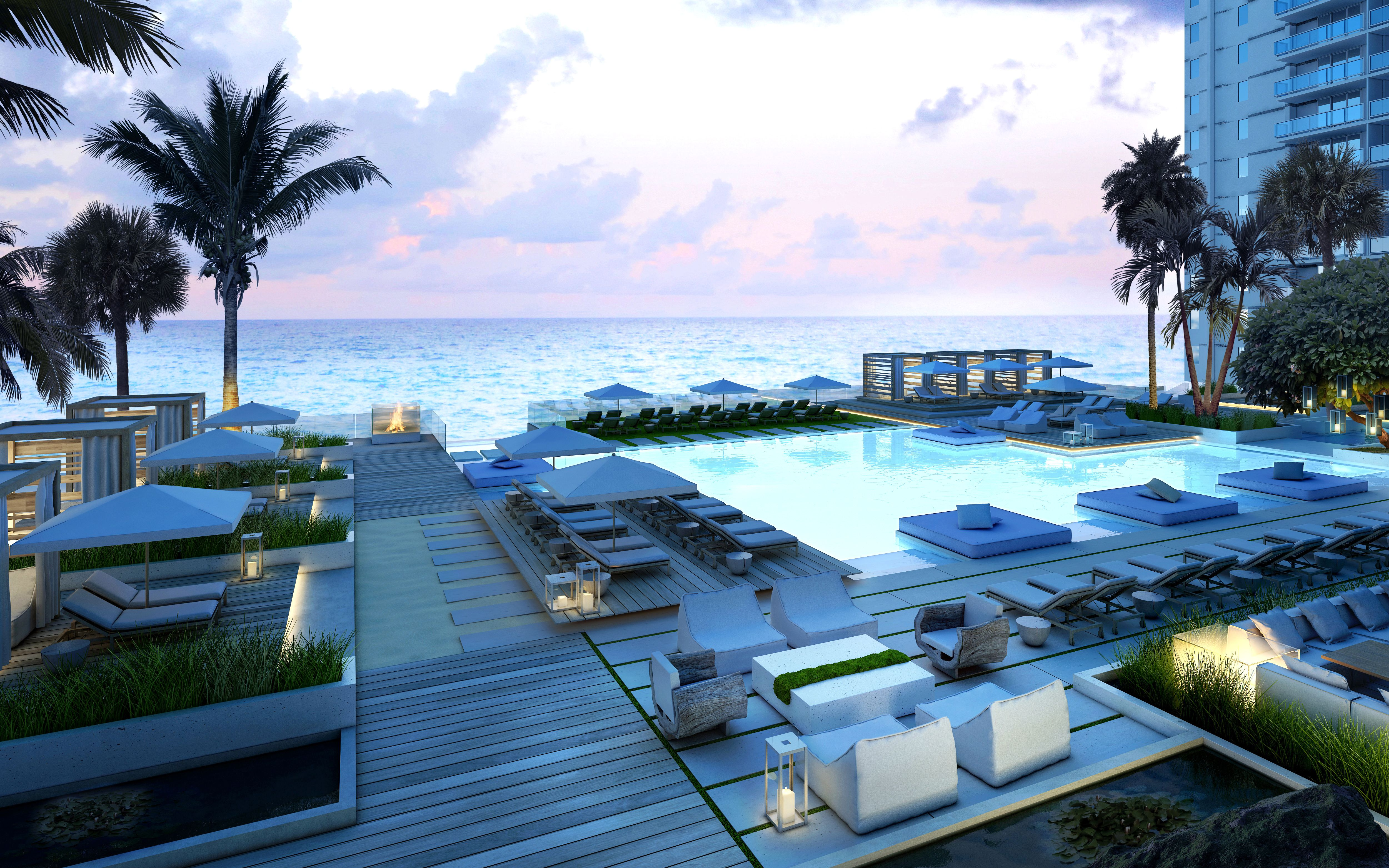 1 Hotel And Homes South Beach Miami Design Pool
