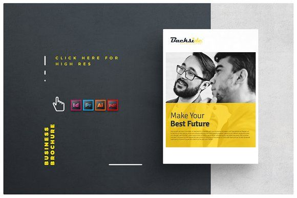 Brochure By Alfianbrand On Creativemarket   Brochure