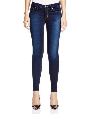 Hudson Nico Mid Rise Super Skinny Jeans in Redux   bloomingdales.com