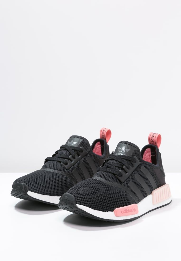 adidas Originals NMD RUNNER - Trainers - core black/peach pink for ...