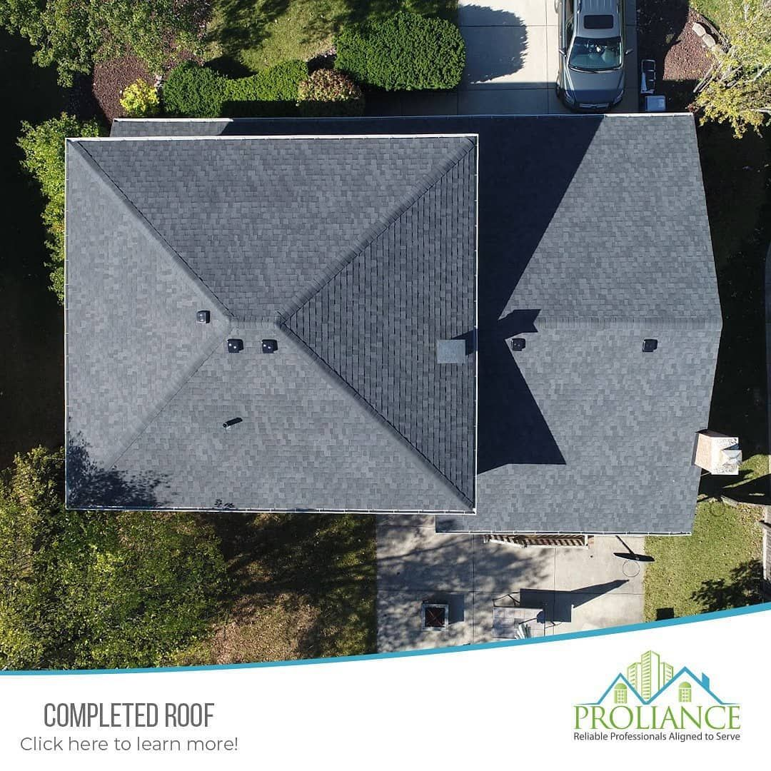 Best Pin By Proliance General Contractors Inc On Roofing In 640 x 480