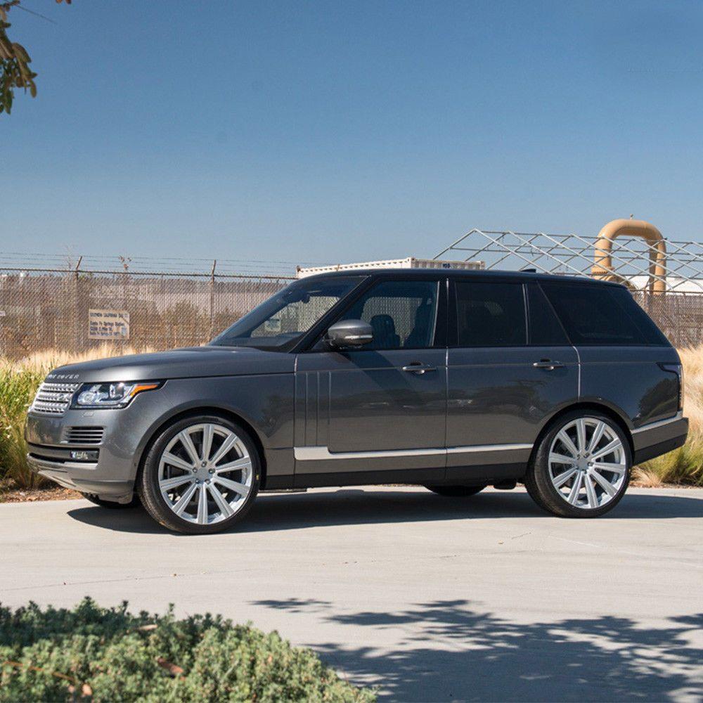 24 Ag Luxury Vanguard Silver Concave Wheels Rims Fits Land Rover Range Rover Range Rover Wheel Rims Land Rover