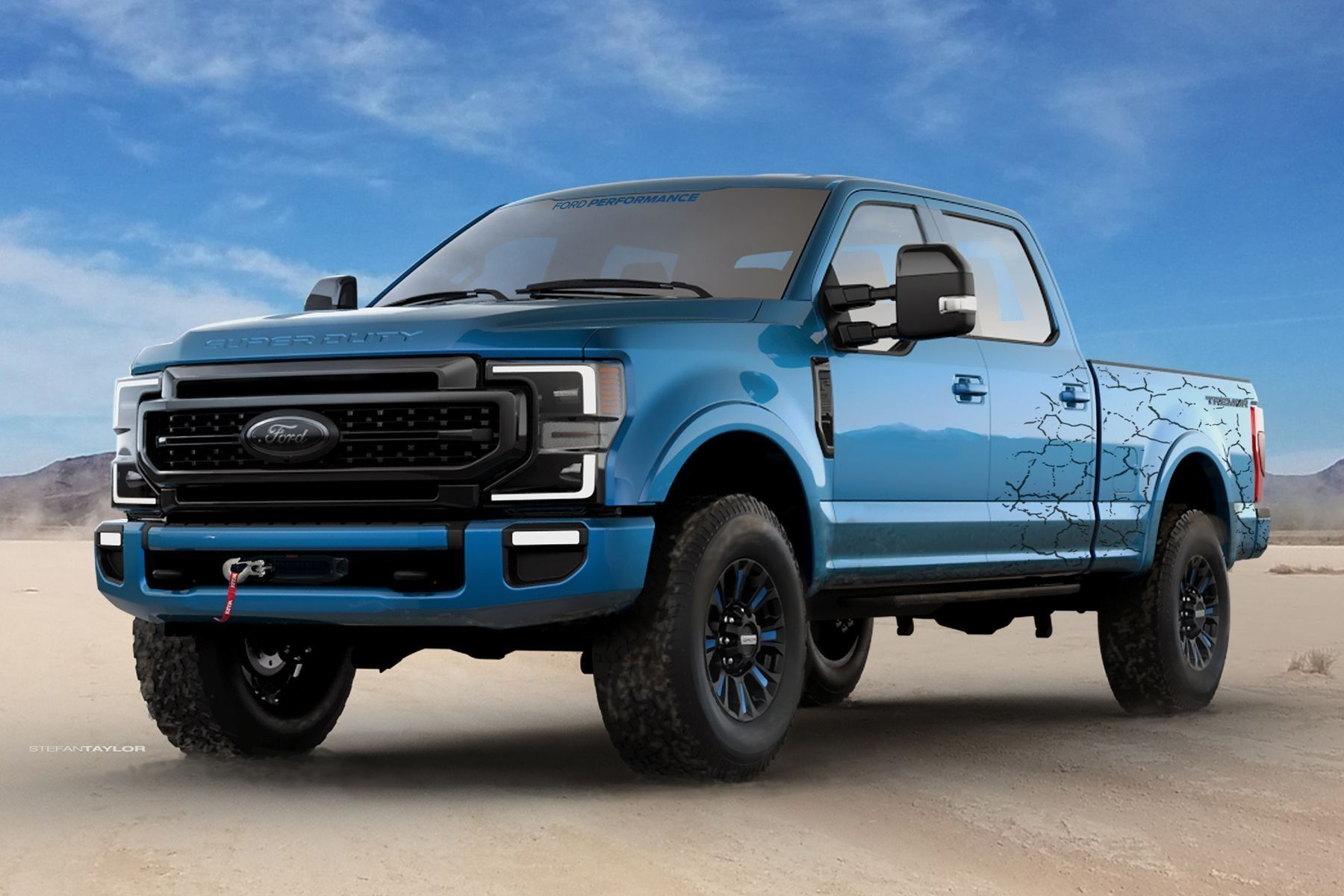 2021 Ford F250 Picture In 2020 Super Duty Trucks Ford Super