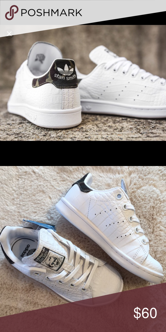 reputable site 46dce 445af NEW WITHOUT BOX TAGS Adidas Stan Smith Camo Croc New without box or tags