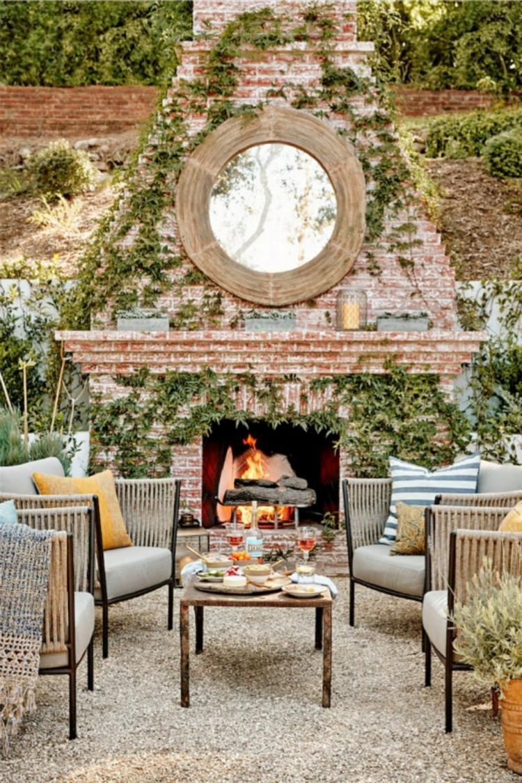 50 exciting rustic outdoor fireplace decor ideas outdoor decor ideas
