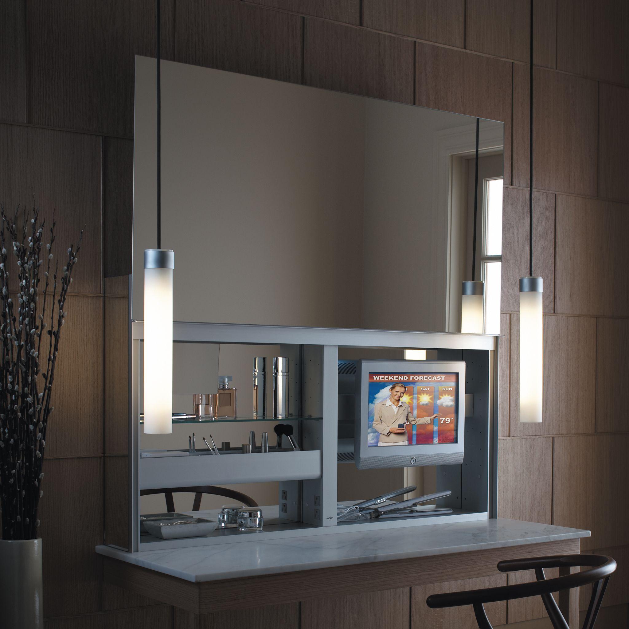 Robern bathroom vanities - Image Result For Mirrors That Slide Up