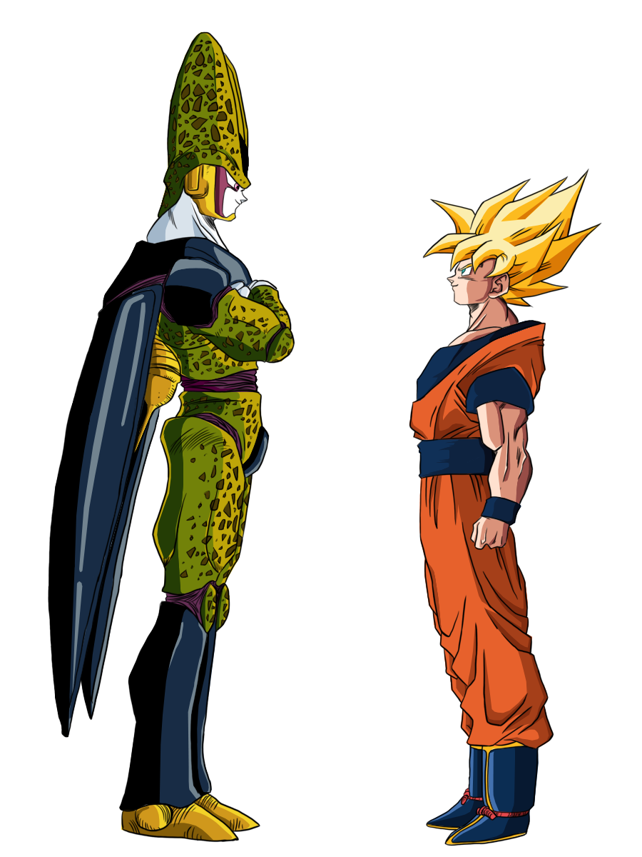 Cell Vs. Goku - Visit now for 3D Dragon Ball Z compression shirts ...