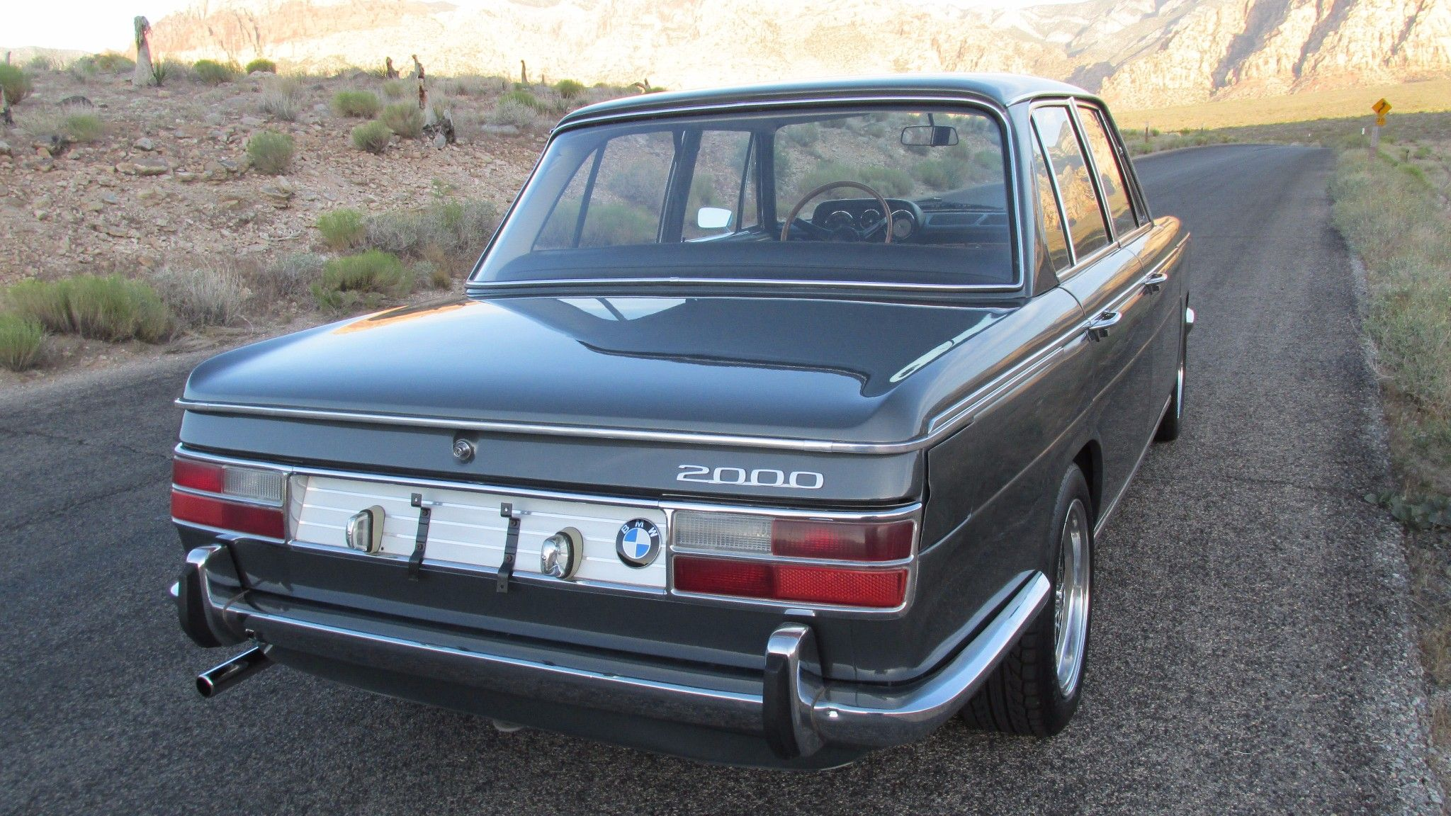 This 1970 BMW 2000 Neue Klasse has undergone a partial restoration and is fitted…